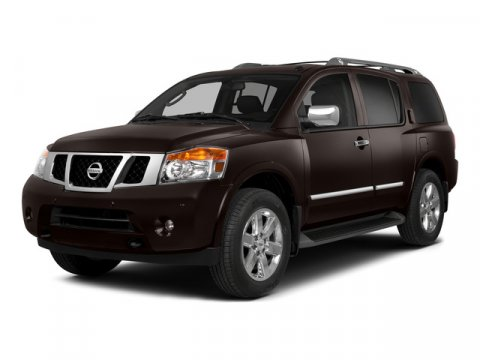 2015 Nissan Armada SV RWD Midnight GarnetAlmond V8 56 L Automatic 29754 miles One Owner Red