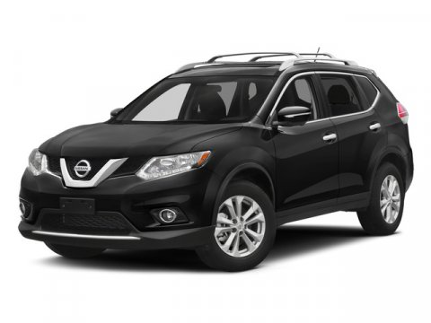 2015 Nissan Rogue S Brilliant SilverCharcoal V4 25 L Variable 58277 miles  B93 CHROME REAR