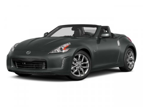 2015 Nissan 370Z Magnetic Black MetallicCharcoal V6 37 L Automatic 5 miles Featuring a sleek a