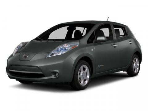 2015 Nissan LEAF SV Brilliant SilverCharcoal V 00 Automatic 5 miles No gas ever The 100 ele