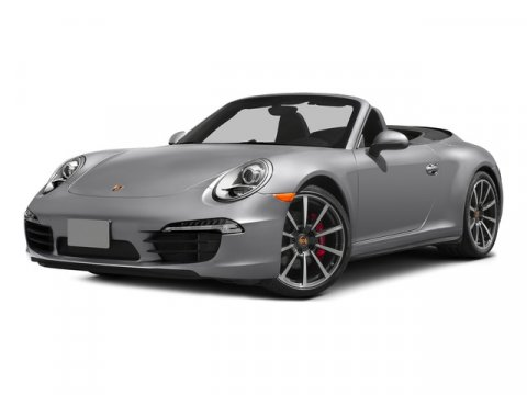2015 Porsche 911 Carrera GTS Cabriolet Guards RedBlack Leather V6 38 L Manual 6 miles  Rear W