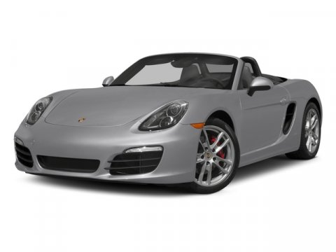 2015 Porsche Boxster S Rhodium SlvrBlBlack V6 34 L Manual 8 miles  Rear Wheel Drive  Power