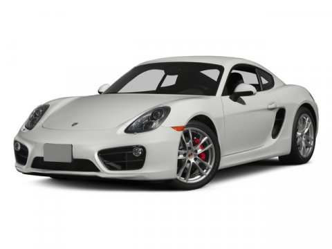 2015 Porsche Cayman S WhiteAgte Gry Pbble V6 34 L Manual 7 miles  Rear Wheel Drive  Power St