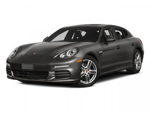 2015 Porsche Panamera Turbo S Jet Black MetallicBlackSaddle Brown V8 48 L Automatic 13 miles