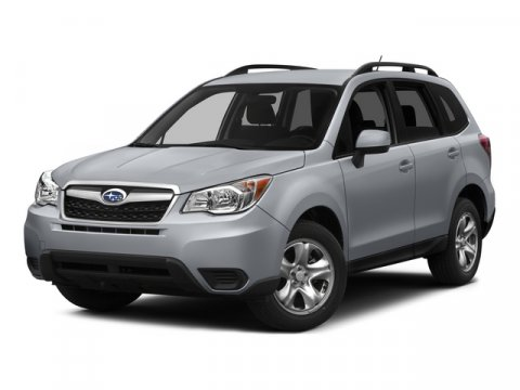 2015 Subaru Forester 25i Satin White PearlGray V4 25 L Variable 0 miles  All Wheel Drive  Po