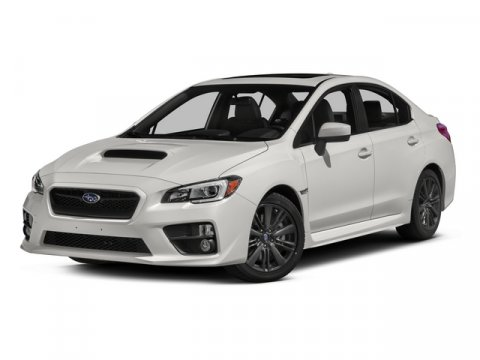 2015 Subaru WRX Limited Crystal Black SilicaBLACKGRAY V4 20 L Manual 0 miles  Turbocharged