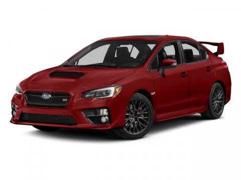 2015 Subaru WRX STI All Weather Pkg 4D Sedan 4-Cyl T Lightning Red V4 25 L Manual 16697 miles