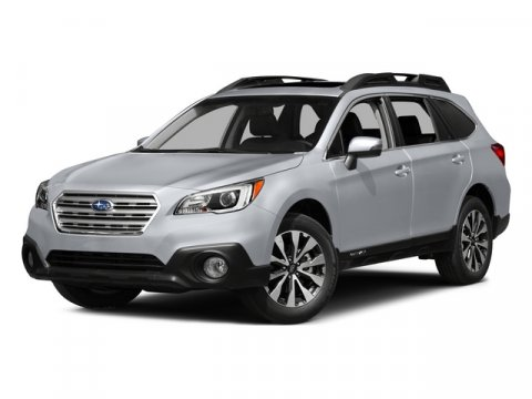 2015 Subaru Outback 25i Premium Ice Silver MetallicDARK GRAY V4 25 L Variable 0 miles  All Wh