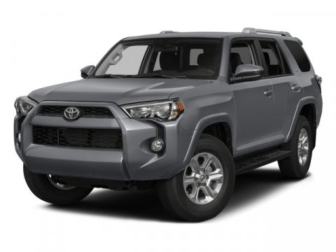 2015 Toyota 4Runner SR5 Magnetic Gray MetallicBlackGraphite V6 40 L Automatic 180 miles  Rear