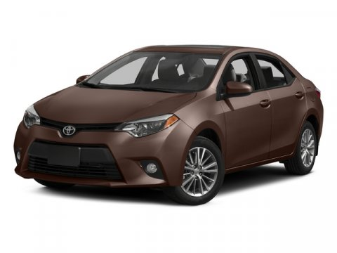 2015 Toyota Corolla LE FWD Barcelona Red MetallicAsh V4 18 L Variable 13628 miles No Dealer F