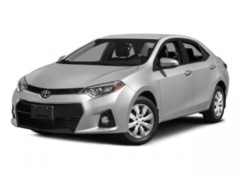 2015 Toyota Corolla S Plus Super WhiteBLACK V4 18 L Variable 5 miles The Toyota Corolla is a f