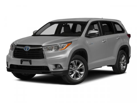 2015 Toyota Highlander Hybrid Limited Silver Sky MetallicBlack V6 35 L Variable 0 miles  CARPE