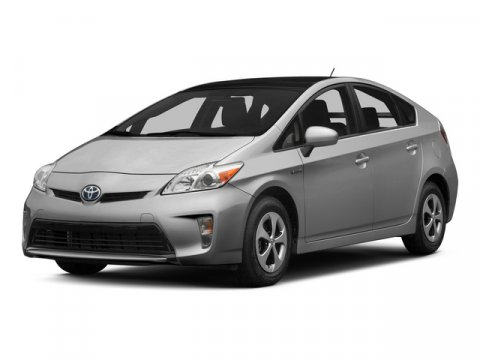 2015 Toyota Prius Two Blizzard PearlBisque V4 18 L Variable 0 miles  BACK UP MONITOR  CARPET