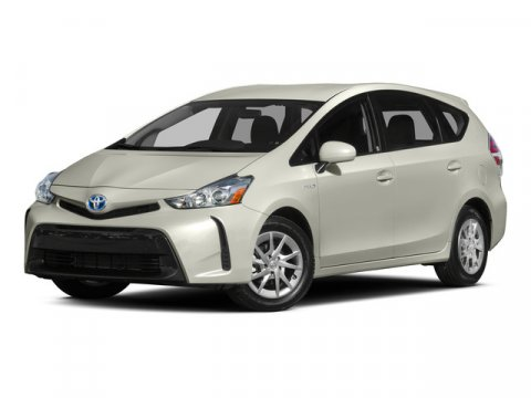 2015 Toyota Prius v Three BLUE RIBBON V4 18 L Variable 27212 miles CARFAX One-Owner Clean CA