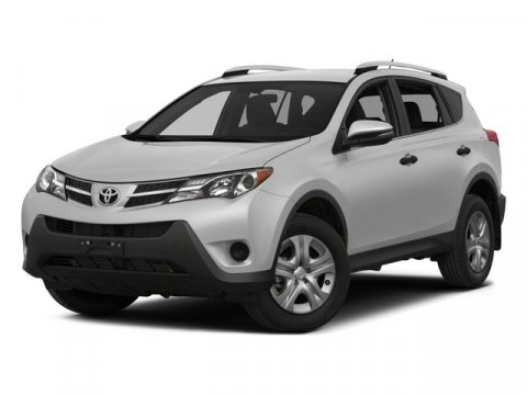 2015 Toyota RAV4 LE WHITESUPER V4 25 L Automatic 12 miles  All Wheel Drive  Power Steerin