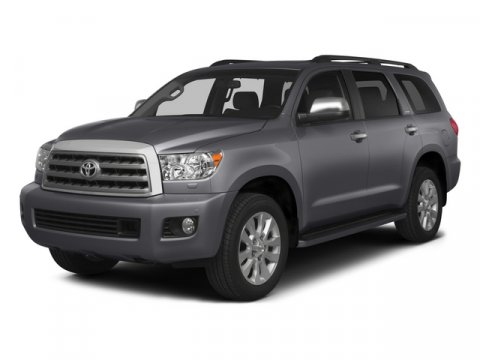 2015 Toyota Sequoia Limited Silver Sky MetallicGray V8 57 L Automatic 10 miles  Four Wheel Dr