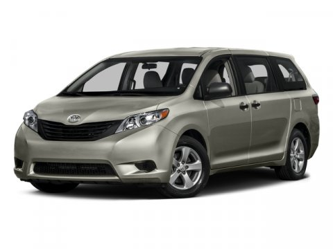 2015 Toyota Sienna LE DARK REDBISQUE V6 35 L Automatic 5 miles Families always have somewhere