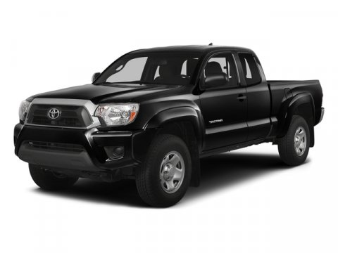 2015 Toyota Tacoma Black V4 27 L Manual 12 miles  Four Wheel Drive  Power Steering  ABS  Fr