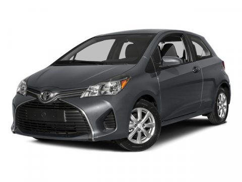 2015 Toyota Yaris L Magnetic Gray MetallicBlack wCircle Design V4 15 L Manual 5 miles  CARPE