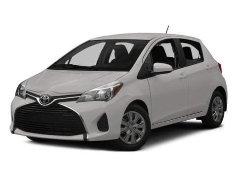 2015 Toyota Yaris L Super WhiteBlack wCircle Design V4 15 L Automatic 5 miles  CARPET FLOOR