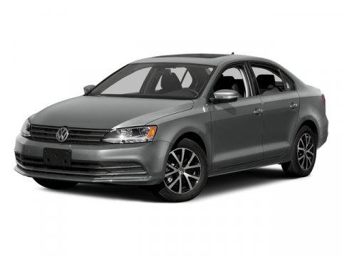 2015 Volkswagen Jetta Sedan Pure WhiteBLACKCARBON LE V4 20 L Manual 5 miles  Turbocharged  F