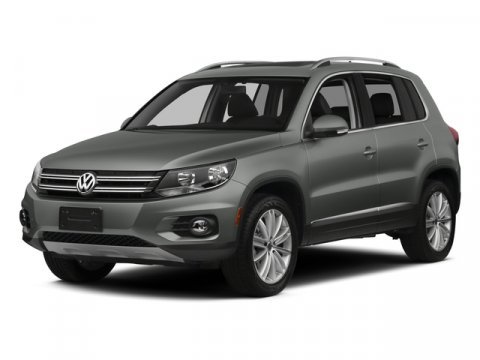 2015 Volkswagen Tiguan White V4 20 L Automatic 41502 miles Boasts 26 Highway MPG and 21 City