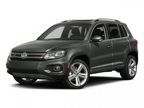 2015 Volkswagen Tiguan R-Line Night Blue MetallicXL V4 20 L Automatic 16 miles  Turbocharged