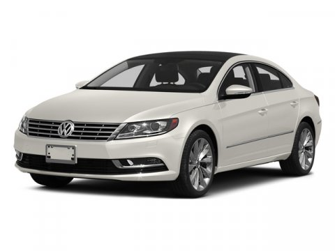 2015 Volkswagen CC Executive Pure WhiteBRN V4 20 L Automatic 0 miles Turbocharged Front Whee