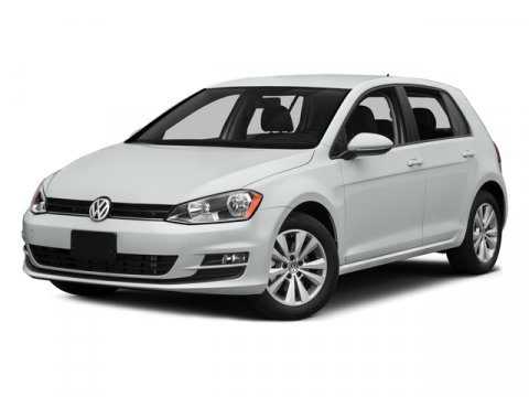 2015 Volkswagen Golf TDI SE Pure WhiteTITAN BLACK V4 20 L Automatic 70 miles  Turbocharged  F