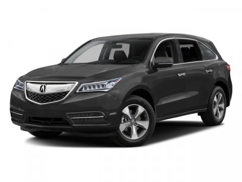 2016 Acura MDX wAcuraWatch Plus Crystal Black Pearl V6 35 L Automatic 7 miles  CRYSTAL BLACK