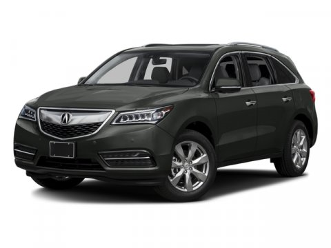 2016 Acura MDX wAdvance Crystal Black Pearl V6 35 L Automatic 5 miles  CRYSTAL BLACK PEARL E