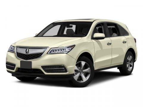 2016 Acura MDX wAcuraWatch Plus Crystal Black PearlEbony V6 35 L Automatic 10 miles  All Whe