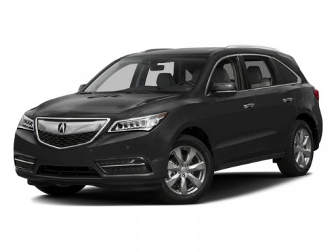 2016 Acura MDX wAdvanceEntertainment Crystal Black Pearl V6 35 L Automatic 6 miles  CRYSTAL