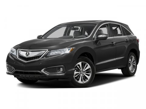 2016 Acura RDX Advance Pkg Crystal Black Pearl V6 35 L Automatic 55 miles  CRYSTAL BLACK PEAR
