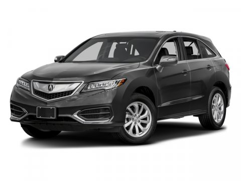 2016 Acura RDX TechAcuraWatch Plus Pkg Crystal Black Pearl V6 35 L Automatic 7 miles  CRYSTA