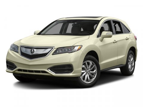 2016 Acura RDX AcuraWatch Plus Pkg White Diamond Pearl V6 35 L Automatic 7 miles  WHITE DIAMO
