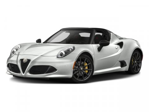 2016 Alfa Romeo 4C L WhiteBlack V4 17 L Automatic 10 miles Built in Modena the Alfa Romeo 4C