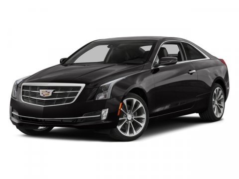 2016 Cadillac ATS Coupe Luxury Collection RWD Black RavenJET BLACK W JET BLACK ACCENTS V4 20L