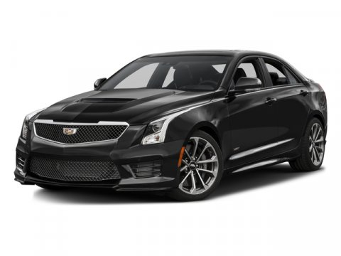 2016 Cadillac ATS-V Sedan Phantom Gray MetallicJet Black V6 36L  5 miles  Turbocharged  Lock