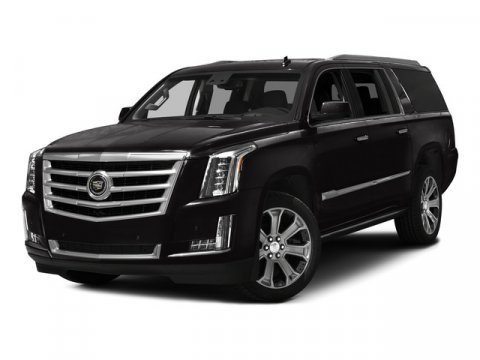 2016 Cadillac Escalade ESV Luxury Collection Radiant Silver MetallicJET BLACK V8 62L Automatic