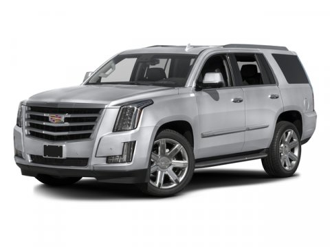 2016 Cadillac Escalade Luxury Collection Gray Silk MetallicBLKBlack V8 62L Automatic 17648 mi