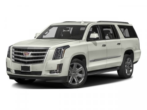 2016 Cadillac Escalade ESV Luxury Collection Crystal White TricoatJet Black V8 62L Automatic 1