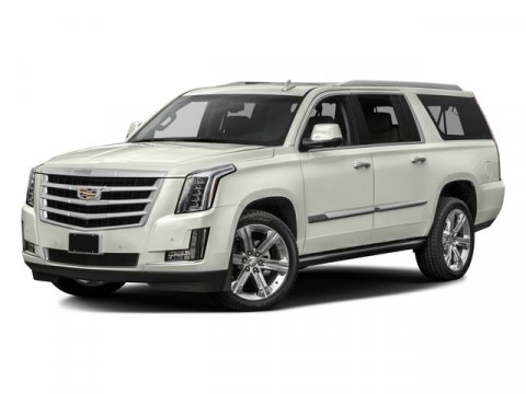 2016 Cadillac Escalade ESV Premium Collection Crystal White TricoatJet Black V8 62L Automatic