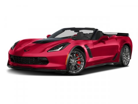 2016 Chevrolet Corvette Z06 3LZ TORCH RED V8 62L Manual 10 miles  VISIBLE CARBON FIBER HOOD I