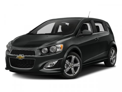 2016 Chevrolet Sonic RS Mosaic Black MetallicJet Black V4 14L Automatic 0 miles  Turbocharged