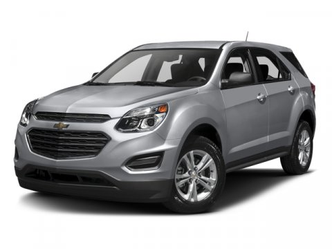 2016 Chevrolet Equinox LS FWD BlackBlack V4 24 Automatic 4226 miles One Owner Black with Bla