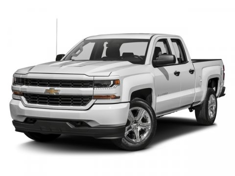 2016 Chevrolet Silverado 1500 Custom BlackDark Ash with Jet Black Interior Accents V8 53L Autom