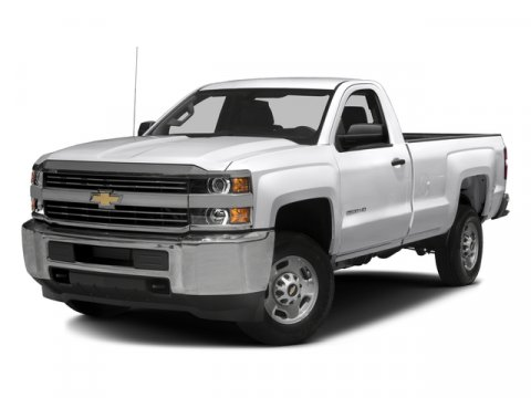 2016 Chevrolet Silverado 2500HD Work Truck Summit White V8 60L Automatic 0 miles  STANDARD