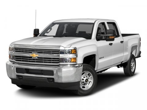 2016 Chevrolet Silverado 2500HD Work Truck Summit White V8 60L Automatic 25 miles  GVW RATING