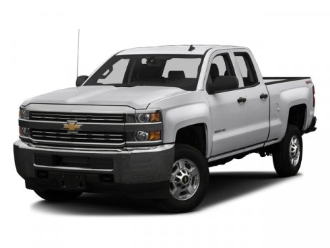 2016 Chevrolet Silverado 2500HD Double Cab Work Truck RWD WhiteDark Ash with Jet Black Interior A